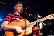 Santiago Delgado, cantante y guitarrista de Santiago Delgado y los Runaway Lovers, Sala Azkena, Bilbao. 2011