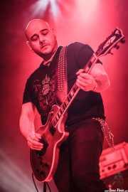 """Aitor Agiriano """"Toro"""", guitarrista de Doctor Deseo (Santana 27, Bilbao, 2011)"""
