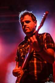 Javi de Hustler, guitarrista de The Hustlers, Santana 27, Bilbao. 2011