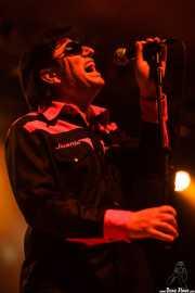 Juanjo Ibarra, cantante de Santiago Delgado y los Runaway Lovers, Santana 27, Bilbao. 2011