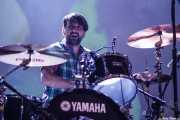 """Javi Letamendía """"Leta"""", baterista de El Inquilino Comunista (Santana 27, Bilbao, 2011)"""