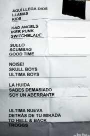 Setlist de Nuevo Catecismo Católico (Sala Edaska, Barakaldo, 2011)