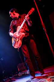 Alfredo Niharra, guitarrista de The Fakeband, Bilbao. 2011