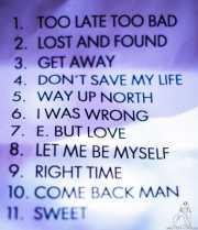 Setlist de The Fakeband, Bilbao. 2011