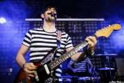 """Jorge """"Stereo"""", guitarrista y teclista de Mutagénicos (Biribay Jazz Club, Logroño, 2011)"""
