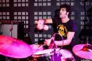 Carlos Jimena, baterista de Guadalupe Plata (09/04/2011)