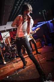 """Iñaki Urbizu """"Pela"""", cantante de Sumisión City Blues, Sala Edaska, Barakaldo. 2011"""
