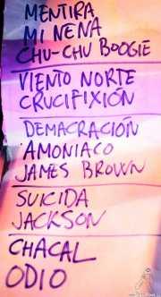 Setlist de Sumisión City Blues, Sala Edaska, Barakaldo. 2011
