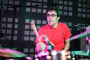 Ander Bada, baterista de The Longboards (Biribay Jazz Club, Logroño, 2011)