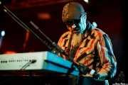 Steve Berlin, teclista, saxofonista y flautista de Los Lobos, Sala Rockstar, Barakaldo. 2011