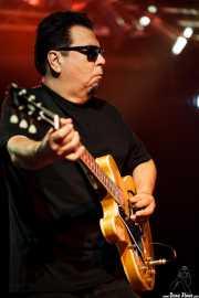 Cesar Rosas, cantante y guitarrista de Los Lobos, Sala Rockstar, Barakaldo. 2011