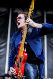 Glenn Hughes, cantante y bajista de Black Country Communion, Azkena Rock Festival, Vitoria-Gasteiz. 2011