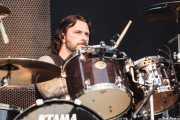 John Tempesta, baterista de The Cult (Azkena Rock Festival, Vitoria-Gasteiz, 2011)