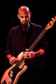 Nick Oliveri, bajista de Kyuss Lives, Azkena Rock Festival. 2011