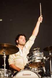 Natxo Beltrán,baterista de Atom Rhumba (Azkena Rock Festival, Vitoria-Gasteiz, 2011)