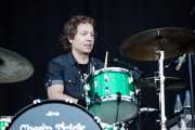 Daxx Nielsen, baterista de Cheap Trick (Azkena Rock Festival, Vitoria-Gasteiz, 2011)