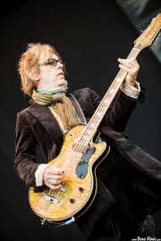 Tom Petersson, bajista de Cheap Trick (Azkena Rock Festival, Vitoria-Gasteiz, 2011)