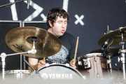 Sam Brown, baterista de New Bomb Turks (Azkena Rock Festival, Vitoria-Gasteiz, 2011)