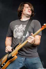 Matt Reber, bajista de New Bomb Turks (Azkena Rock Festival, Vitoria-Gasteiz, 2011)