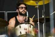 Creighton Barrett, baterista de Band of Horses, Azkena Rock Festival, 2011