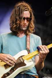 Tyler Ramsey, guitarrista de Band of Horses, Azkena Rock Festival, 2011