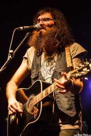 Javier Vielba, cantante y guitarrista de Arizona Baby, Azkena Rock Festival, Vitoria-Gasteiz. 2011
