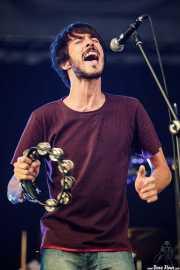 Pucho, cantante de Vetusta Morla, Bilbao BBK Live, 2011