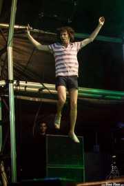Nic Offer, cantante de !!! (Chk Chk Chk), Bilbao BBK Live, Bilbao. 2011