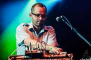 Allan Wilson, teclista y percusionista de !!! (Chk Chk Chk), Bilbao BBK Live, Bilbao. 2011