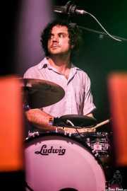 Paul Quattrone, baterista de !!! (Chk Chk Chk), Bilbao BBK Live, Bilbao. 2011