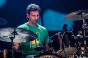 Adam Topol, baterista de Jack Johnson, Bilbao BBK Live, 2011