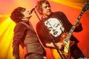 Jesse Malin -voz- y Danny Sage -guitarra- de D Generation, Turborock 2011, Santander. 2011