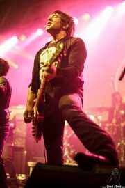 Danny Sage, guitarrista de D Generation, Turborock 2011, Santander. 2011