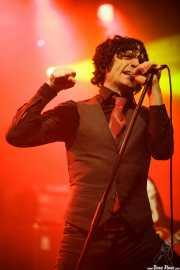 Jesse Malin, cantante de D Generation, Turborock 2011, Santander. 2011