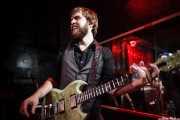 Dylan Fitch, guitarrista de The Delta Saints, El Balcón de la Lola, Bilbao. 2011