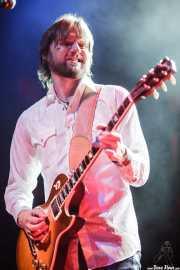 Jeff Massey, cantante y guitarrista de The Steepwater Band (Kafe Antzokia, Bilbao, 2011)