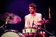 Alex Alonso, baterista de Dr. Maha's Miracle Tonic en sustitución de Patxi López (26/11/2011)