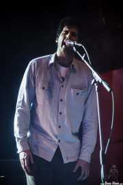 Álvaro Luna, cantante invitado de Zodiacs, Bilbao. 2012