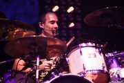 """Chema """"Animal"""" Pérez, baterista de Los Enemigos, Festival Actual, 2012"""