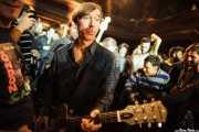 Keith Streng, guitarrista y cantante de The Fleshtones (Kafe Antzokia, Bilbao, 2012)