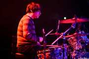 Jesús España, baterista de Los Tupper, Santana 27, Bilbao. 2012