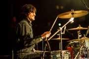 Jorge Fuertes. baterista de We are standard, Santana 27, Bilbao. 2012