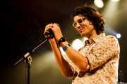Deu Txakartegi, cantante y bajista de We are standard, Santana 27, Bilbao. 2012