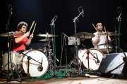 Eneko Aranzasti e Ivan Zabalegi, bateristas de Lisabö, Kafe Antzokia, 2012