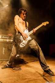 Bertto Siffredi, guitarrista de Discípulos de Dionisos, , 2012