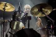 Bernar, baterista de Motorsex (Kafe Antzokia, Bilbao, 2012)