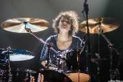 Mariana Pérez Abendaño, baterista de Sonic Trash, Kafe Antzokia, Bilbao. 2012