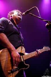 David Hono, cantante y guitarrista de Sonic Trash, Kafe Antzokia, Bilbao. 2012