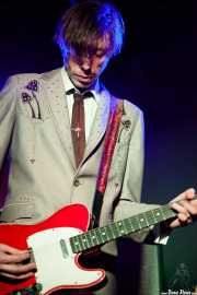 Dallas Good, cantante y guitarrista de The Sadies (Sala Azkena, Bilbao, 2012)