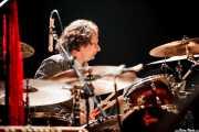 Ralph Salmins, baterista de The Waterboys (Santana 27, Bilbao, 2012)